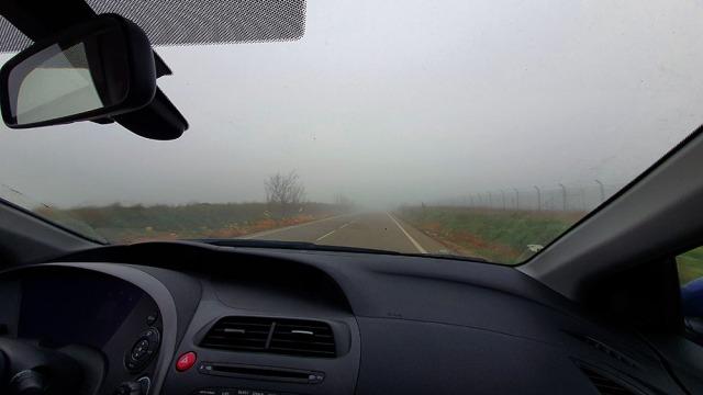 niebla triste